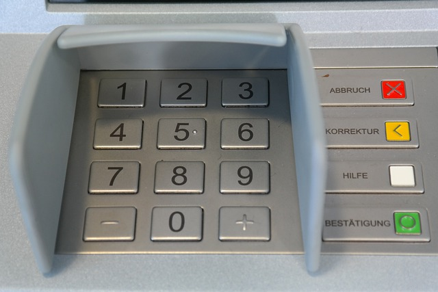Keypad, Number Field, Atm, Secret Number, Secret Code