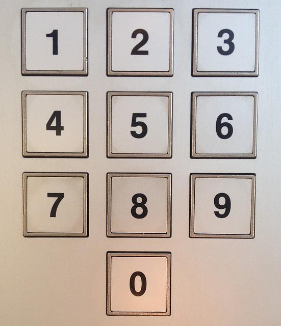 keyboard numeric keypad number field input pin