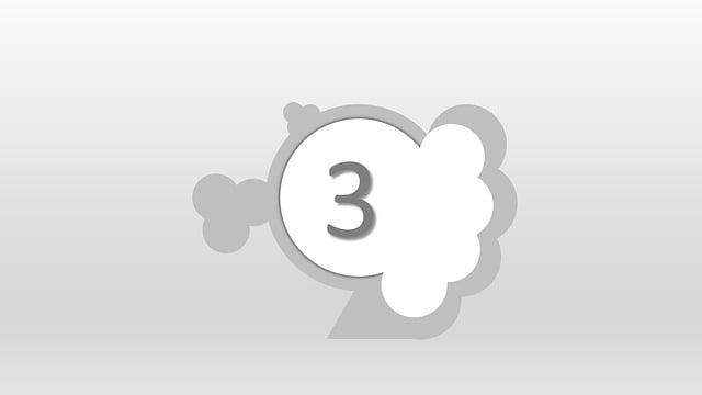 Three, 3, 123, Third, Zoom, Number, Numeric, Numeral