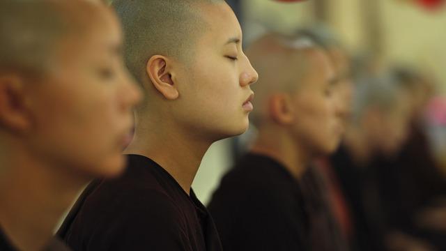 Theravada Buddhism, Buddhist, Nuns, Young Nuns