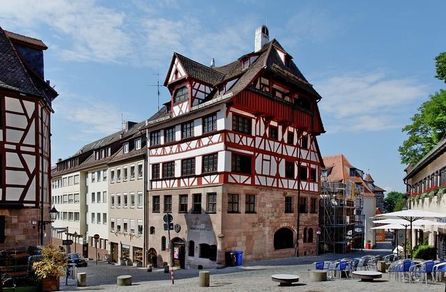 Albrecht Dürer Haus, Nuremberg, Albrecht-dürer-straße