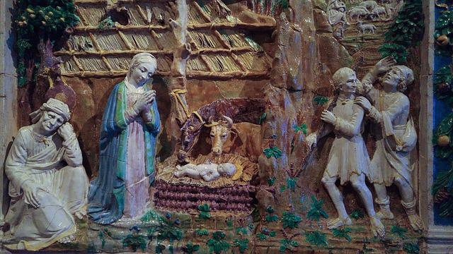 Nursery, Nativity, Christmas, Religion