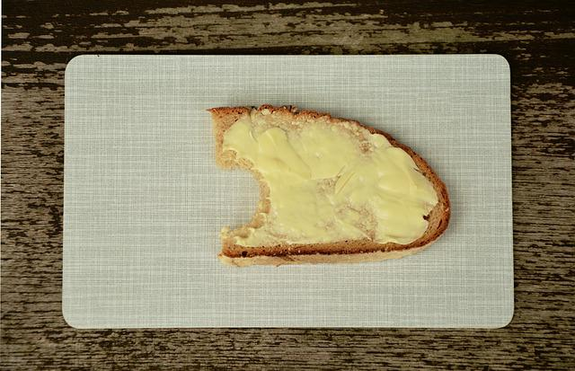 Bread And Butter, Bread, Butter, Bitten, Nutrition