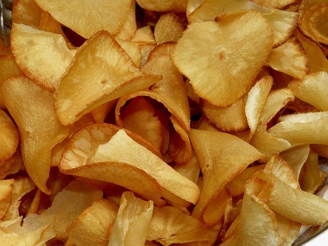 Cassava, Chips, Eat, Food, Nutrition, Costa Rica
