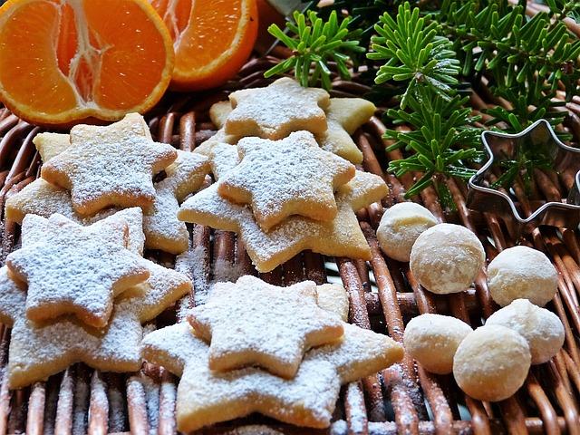 Cookie, Christmas, Advent, Macadamia, Nuts, Nicholas