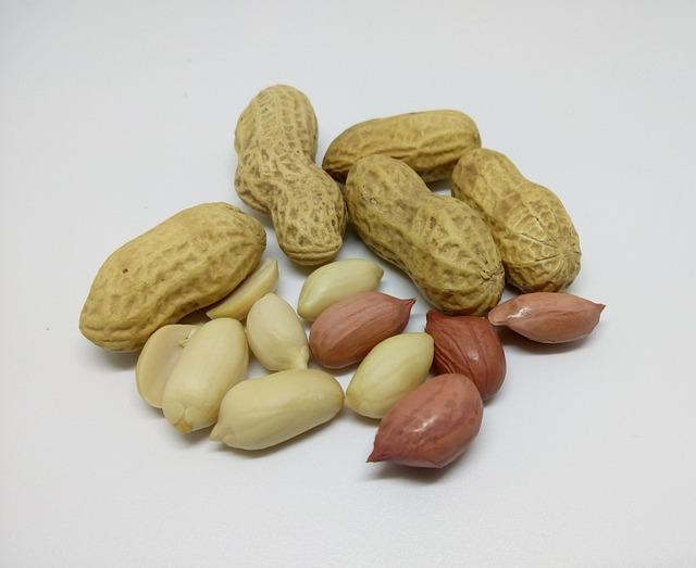 Peanuts, Nuts, Dry Fruit, Raw