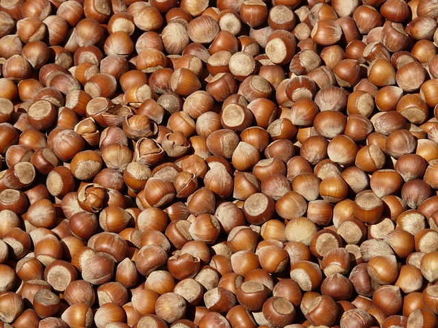 Hazelnuts, Brown, Nuts, Open, Shells, Market
