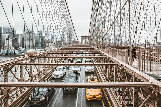 Taxi, New York, Brooklyn, Cab, Nyc, City, Traffic, Usa