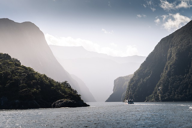 Fiordland, Ferry, Fiord, Nz, Cruise, Ship, Water, Sea