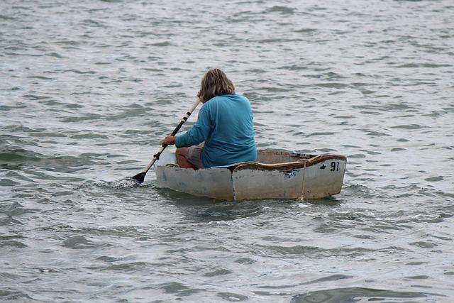 Water, Recreation, Leisure, Oar, Summer, Boat