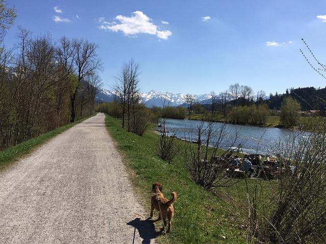 Allgäu, Iller, Iller Dam, Sonthofen, Oberstdorf, Walk