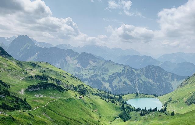 Mountains, Germany, Nature, Landscape, Oberstdorf, Alps