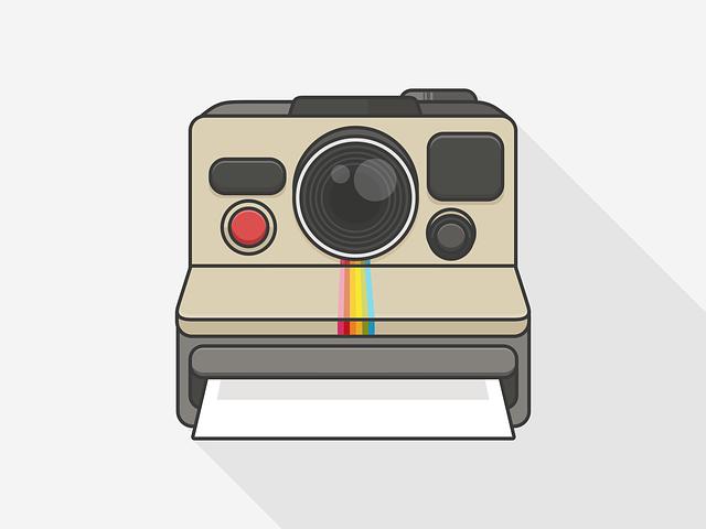 Polaroid, Camera, Room, Photo, Retro, Objective