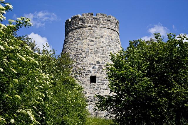 Windmill Stump, Observation Tower, Windmill, Barntrup