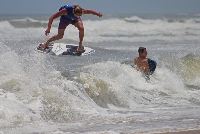 Obx, Beach, Ocean, Shore, Carolina, Coastline, Seashore
