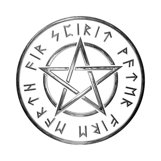 Pentagram, Magic, Occult, Mystic, Ritual, Spiritual