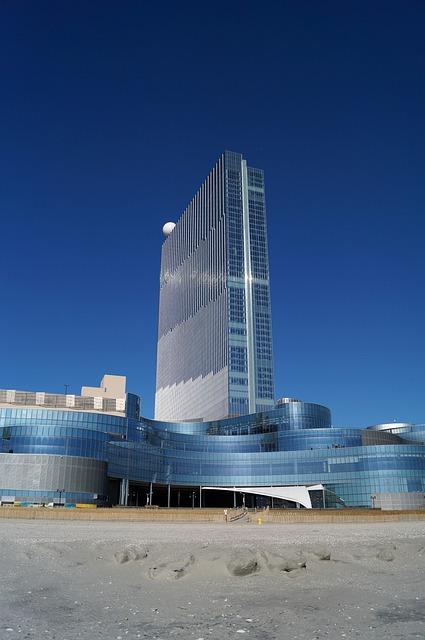Casino, Atlantic City, Revel, Boardwalk, Ocean