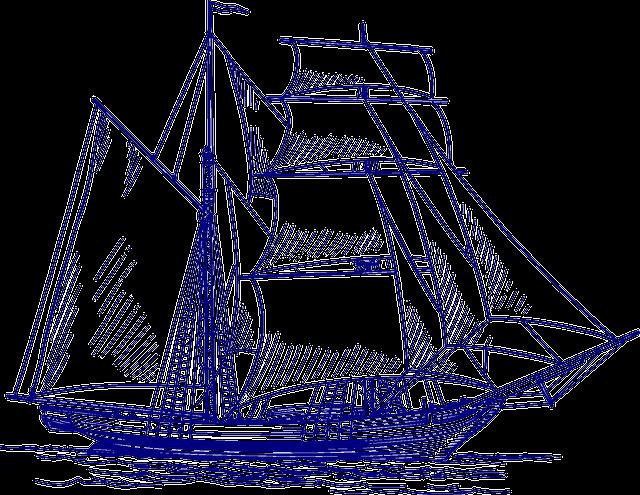 Sailing Ship, Ship, Sailing Vessel, Sea, Boat, Ocean