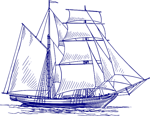 Sailing Ship, Ship, Sailing Vessel, Sea, Boat, Ocean