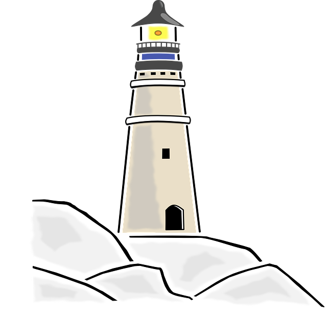 Lighthouse, Building, Light, Ocean