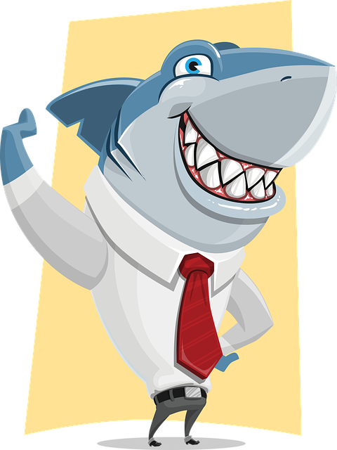 Shark, Business, Corporate, Ocean, Danger, Leader, Tie