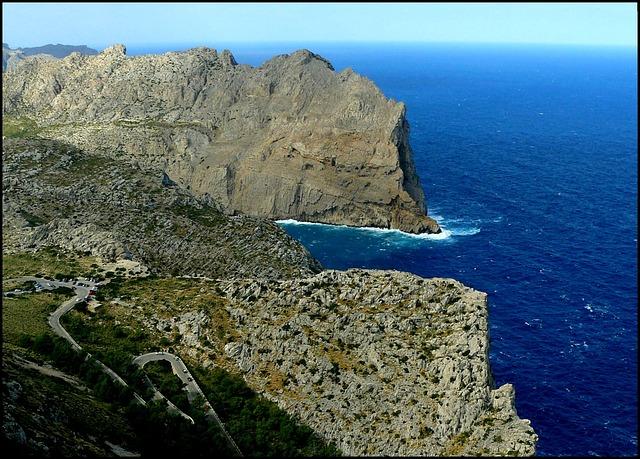 Coast, Sea, Ocean, Water, Mediterranean, Stones, Rock