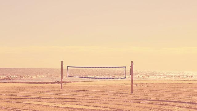 Beach, Daylight, Landscape, Light, Net, Ocean, Outdoors