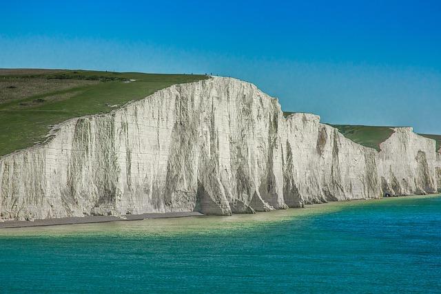 Seven Sisters, England, Reefs, Ocean