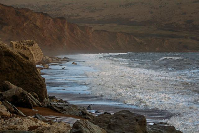 Worbarrow Bay, Ocean, England