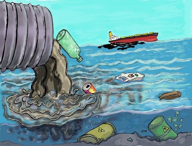 Pollution, Trash, Degradation, Environment, Mar, Ocean