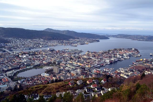 City, Ocean, The Coast, Water, Landscape, View, Tourism