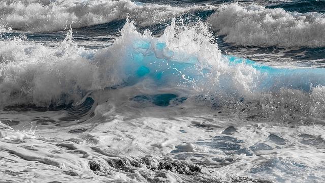 Water, Surf, Nature, Sea, Wave, Ocean, Spray, Foam