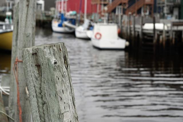 Boats, Nova Scotia, Canada, Ocean, Fishing, Harbor