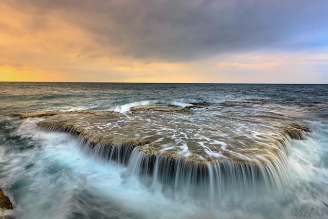 Sea, Ocean, Flow, Reef, Rocks, Shore, Tide, Wave