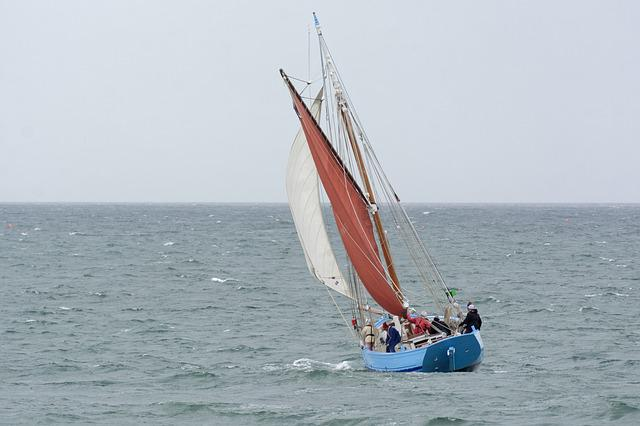 Body Of Water, Sea, Boat, Ocean, Sailboat, Sailing