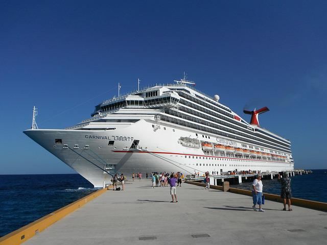Cruise, Vacation, Port, Travel, Carnival, Sea, Ocean