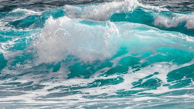 Water, Sea, Surf, Wave, Ocean, Splash, Motion, Wind
