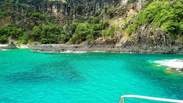 Fernando, Of, Noronha, Mar, Island, Perfect, Boat