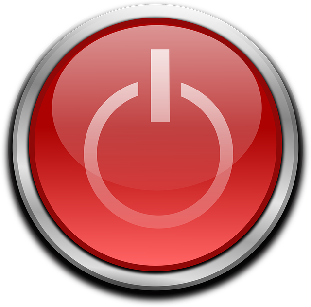 Button, Power, Computer, Start, Red, On, Off