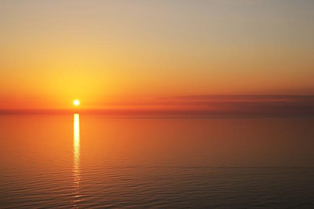 Sunset, Beach, Nature, Sunrise, Offer, Landscape