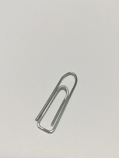 Clip, Office, Material, Metal, Office Accessories