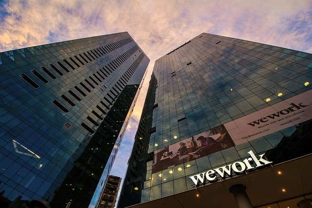 Architecture, City, Sky, Outdoors, Office, Business