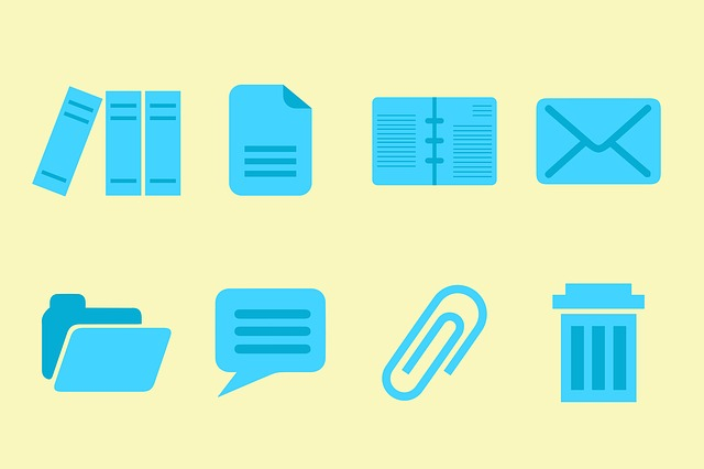 Office, Icons, Books, Files, Letter, Folder, Business