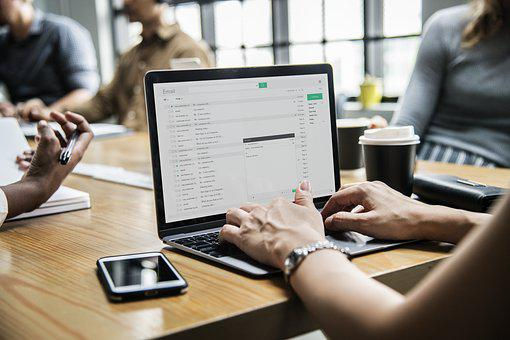 Computer, Laptop, Technology, Office, Business