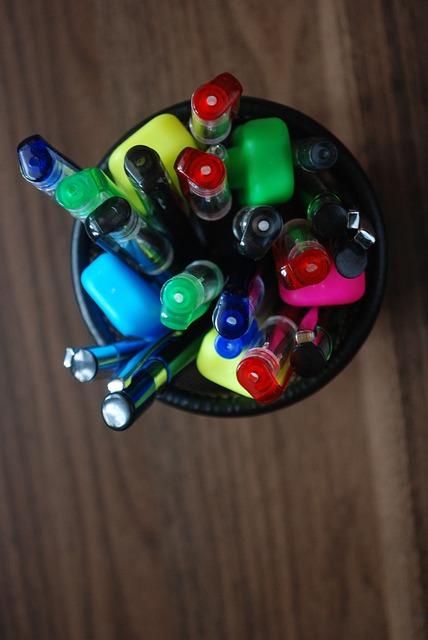 Pen, Dlugopisy, Felt Tip, Felt Tip Pens, Office
