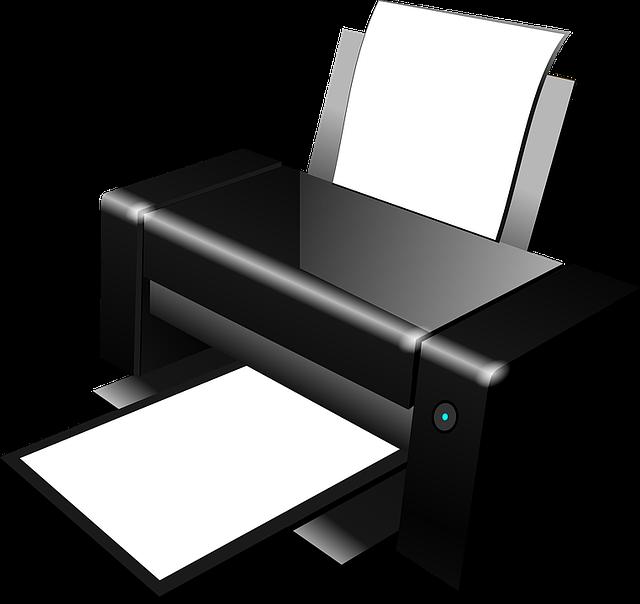 Printer, Copier, Modern, Office, Photocopier, Print