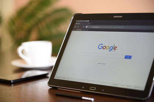 Internet Search Engine, Tablet, Samsung, Galaxy, Office