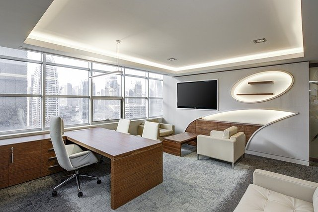 Office, Sitting Room, Executive, Sitting, Business
