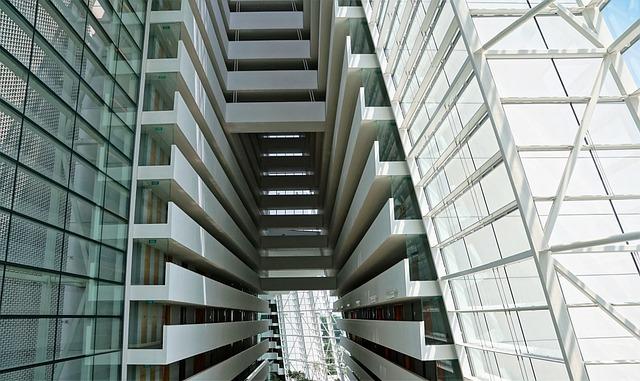 Glass, Architecture, Office, Contemporary, Skyscraper