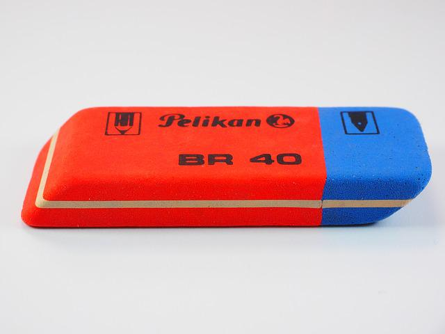 Eraser, Office Supplies, Office, Office Accessories